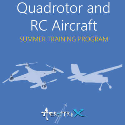 Summer Training Program on Quadrotor and RC Aircraft  at Skyfi Labs Center, Gate Forum, Gandhi Puram