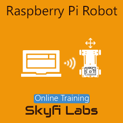 Raspberry Pi Robot Online Project-based Course  at Online Workshop