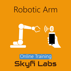 Robotic Arm Online Project-based Course  at Online Workshop