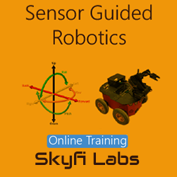 Sensor Guided Robotics Online Project based Course  at Online Workshop