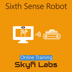 Sixth Sense Robot Online Project-based Course  at Online Workshop