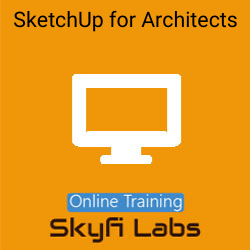 SketchUp for Architects Online Live Course  at Online Workshop