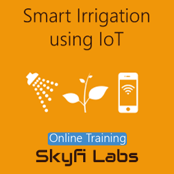 Smart Irrigation System using IoT Online Project Based Course