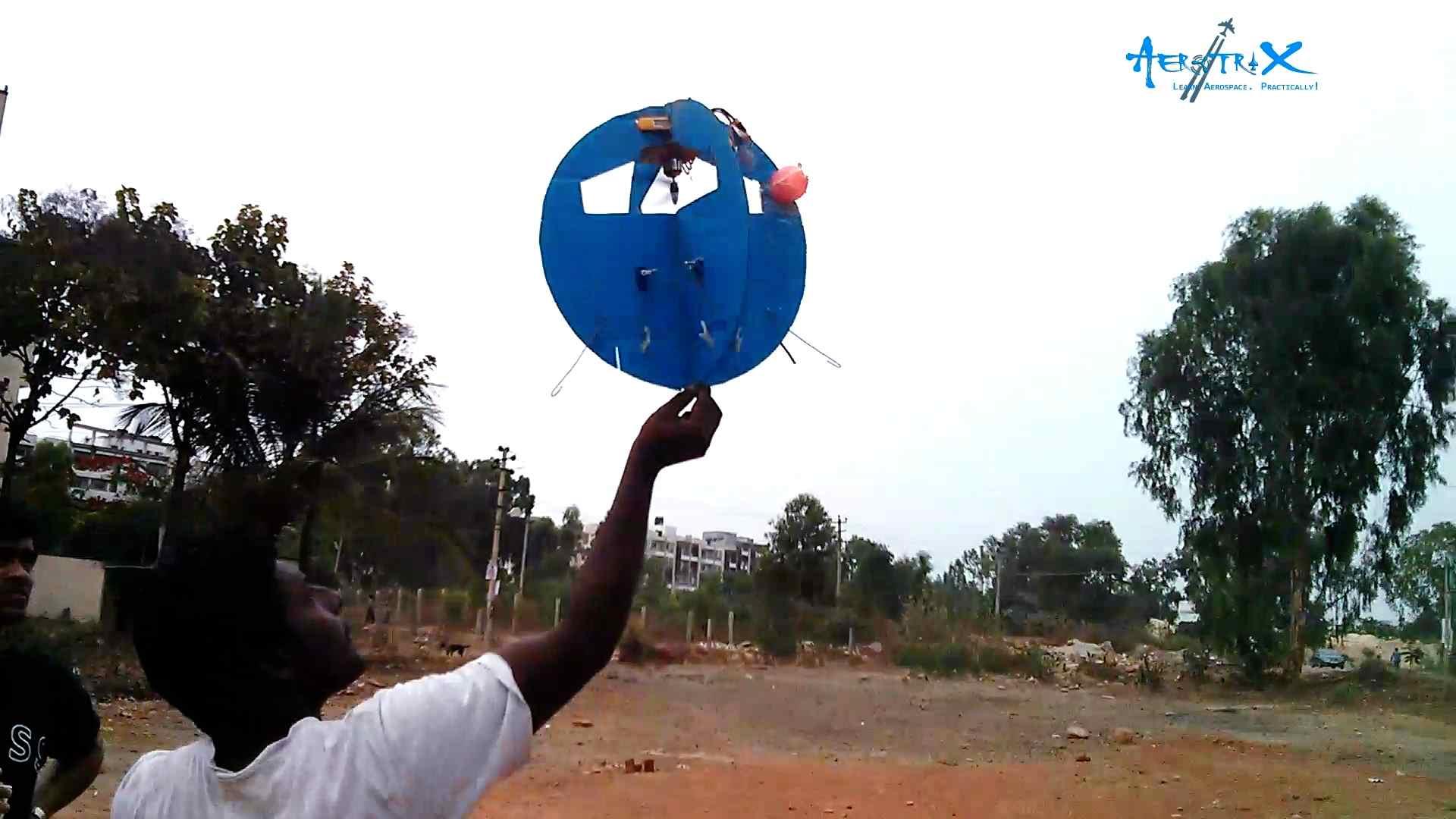 Sphere Drone Flight Session