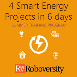 Summer Training Program on 4 Smart Energy Projects in 6 days in Trichy
