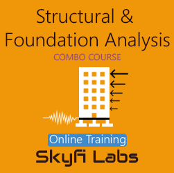 Structural and Foundation Analysis Online Project-based Course  at Online Workshop