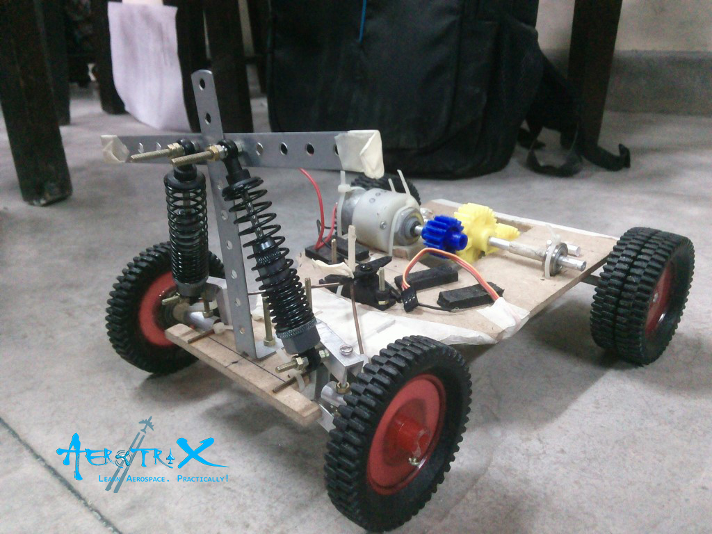Student built RC Car