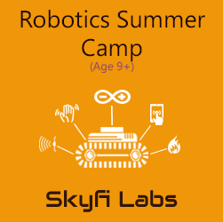 Robotics Summer Camp for School Kids  at Skyfi Labs Center, Marathahalli Workshop