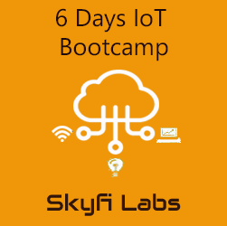 6 Days IoT Bootcamp  at Skyfi Labs Center, National English School, VIP Road Campus Workshop
