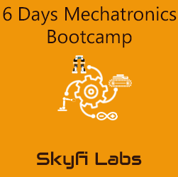 6 Days Mechatronics Bootcamp  at Skyfi Labs Center, National English School, VIP Road Campus Workshop