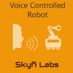 Voice Controlled Robot Workshop  at Skyfi Labs Center Workshop