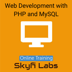 Web Development with PHP and MySQL Online Live Course  at Online Workshop