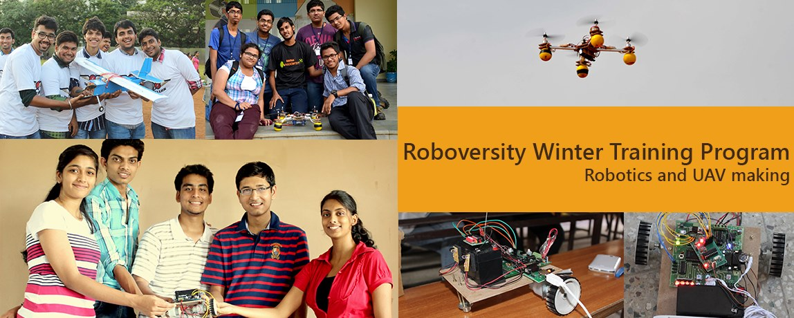 Roboversity Winter Training Program on Robotics and UAV making